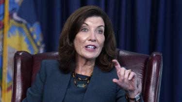 New York Governor Kathy Hochul.