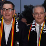 The odd couple: Morrison and Andrews' 'bromance' promises a new political era