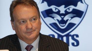 Outgoing Geelong CEO Brian Cook.