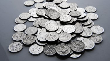 Five cent pieces were among the coins being stockpiled during the pandemic.