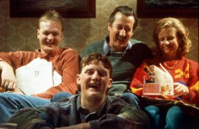 Straight to the lounge room: the Kerrigan family in The Castle.