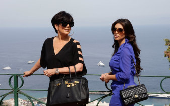 Kris Jenner and Kim Kardashian in 2010.