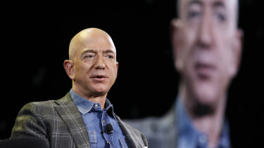 Amazon boss Jeff Bezos is estimated to be worth $182 billion.