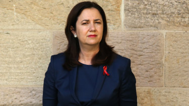 Premier Annastacia Palaszczuk is watching and waiting for any NSW community transmission and how Victoria emerges from lockdown.