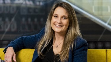 Optus' new chief executive Kelly Bayer Rosmarin says the telco's priority is to keep customers connected.