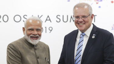 Indian Prime Minister Narendra Modi and Scott Morrison spoke on Friday night, agreeing to delay the Australian PM's visit because on bushfires.