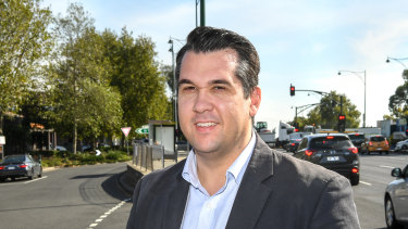 Liberal MP for Deakin Michael Sukkar has a target on his back.