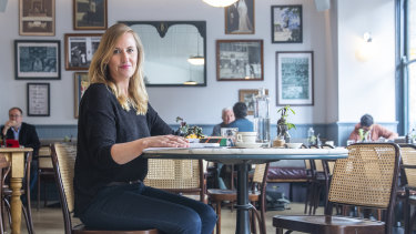 "Leah MacLean says she dines alone during the day for ""me time""."