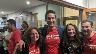 Labor's Sorina Grasso achieved a swing of almost 10 per centagainst Liberal MP David Southwick.