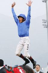 Got the jump: Top hoop Frankie Dettori will ride Redkirk Warrior in Hayes' Royal Ascot bid.