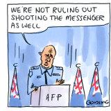 The AFP media raids