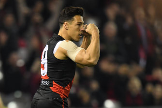 Essendon's Dylan Shiel says shortened games will mean the best players play more.