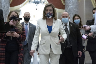 US House Speaker Nancy Pelosi wants more help for people affected by the pandemic.