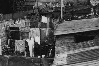 Fitzroy's slums in 1947.