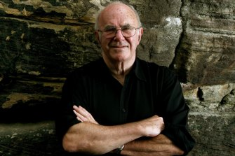 A man of words: Clive James.