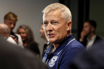 Geelong recruiting manager Stephen Wells is pleased with the Cats' 2020 hand.