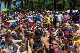 Strength in diversity: The crowd at last year's Midsumma.