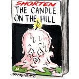 There is already interest from publishers for a Bill Shorten tell-all book. Illustration: John Shakespeare