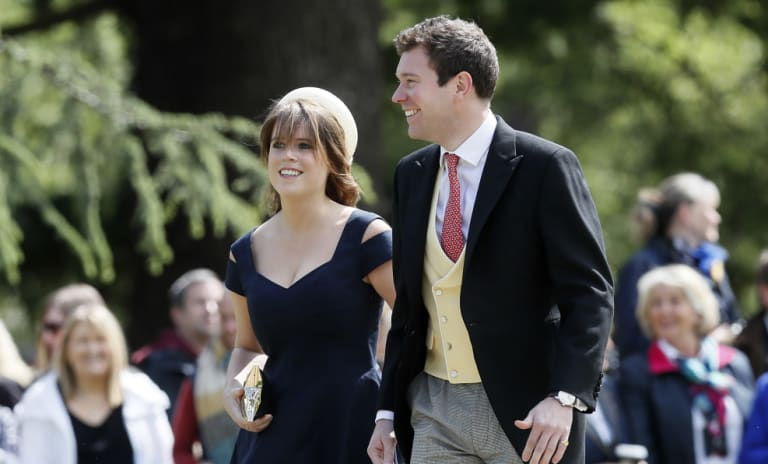 Princess Eugenie will marry Jack Brooksbank on Friday.