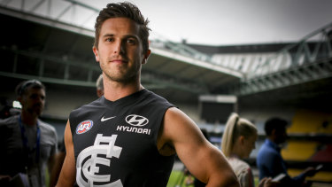 Carlton skipper Marc Murphy will also be out.