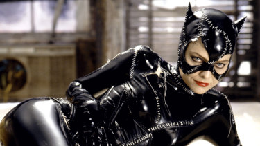 Michelle Pfeiffer as Catwoman in Batman Returns.