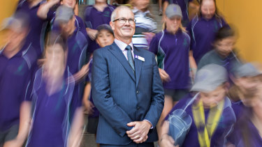 Brighton Seconday College principal Richard Minack says too many parents are gaming the system by moving in and out of school zones