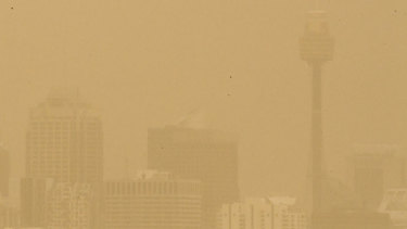 Dust storms can cause havoc for the population.