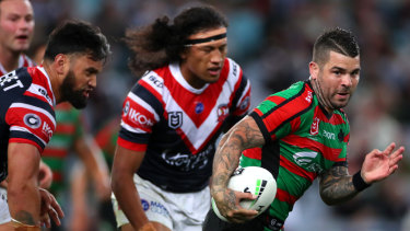 Adaptability: Adam Reynolds says an ability to change tactics mid-match will serve the Rabbitohs well in the finals.