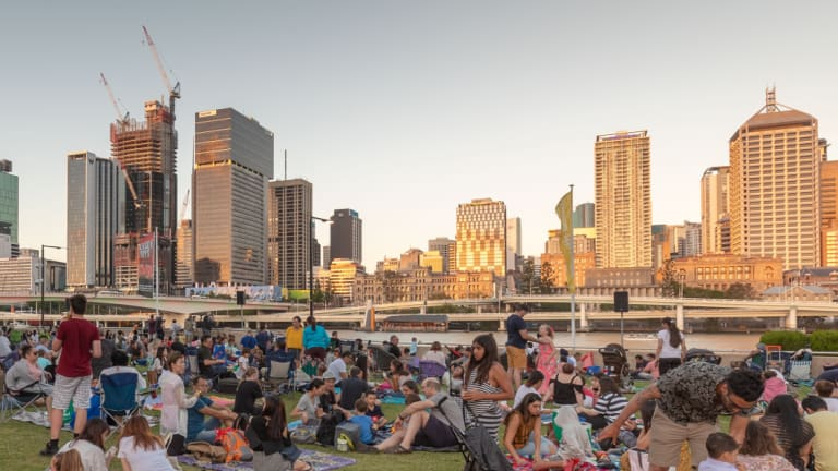 Brisbane's reputation as a holiday destination has increased with new figures showing a jump in holiday visits.