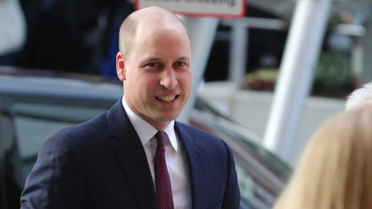 Prince William has embraced his shiny noggin and it's about time.