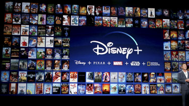 The company is shifting gears following the success of Disney Plus .