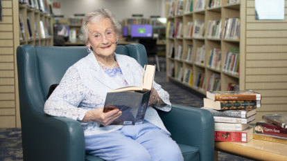 Sydney's biggest reader: Dorothy has borrowed 14,000 library books in 69 years