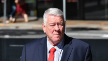 John Wagner is seen arriving at the Supreme Court in Brisbane in September.