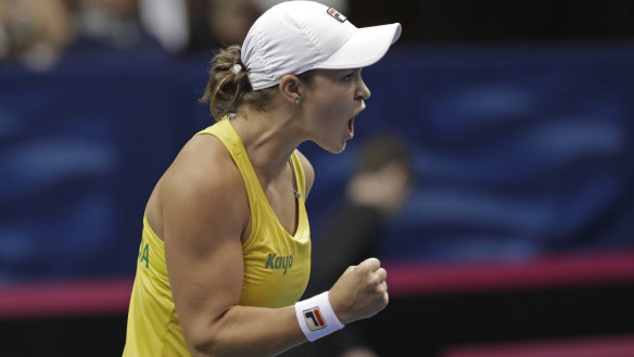 Barty, Keys set for titanic Fed Cup clash with Australia, US locked 1-1