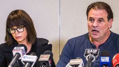 'We've been to hell and back': Setka's wife stands by her man