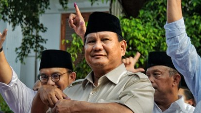 Election body rejects Prabowo's fraud claims