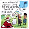 Morrison plays Santa in a merry start to festive season break