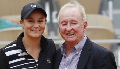 Grass act: Laver tips Barty for Wimbledon glory