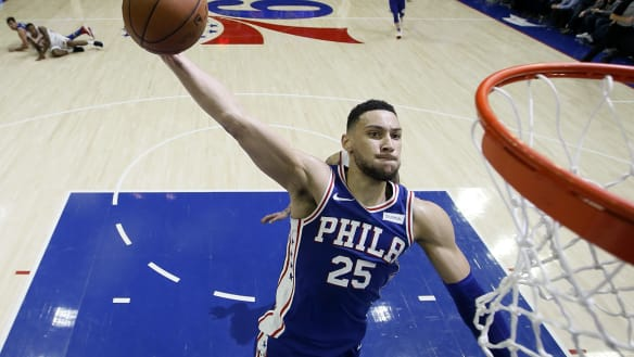 Simmons shortlisted for NBA rookie of the year