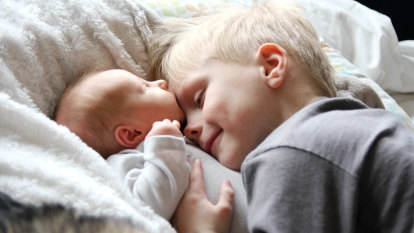 Hello, second baby. Farewell, unsolicited-advice givers