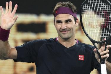 Roger Federer has defeated Filip Krajinovic of Serbia at the Australian Open.