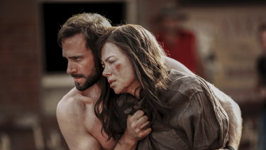 Joseph Fiennes and Nicole Kidman play a husband and wife in the outback thriller Strangerland.