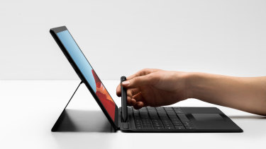 Microsoft says the Surface Pro X is the thinnest, lightest and most powerful Surface Pro.