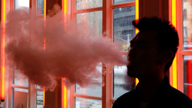 The latest US survey found an unprecedented rise in the use of e-cigarettes by teenagers.