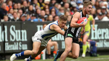Collingwood's Sam Murray is being investigated by ASADA.