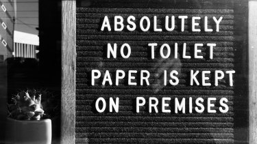 Hoarding toilet paper was a hallmark of 2020.