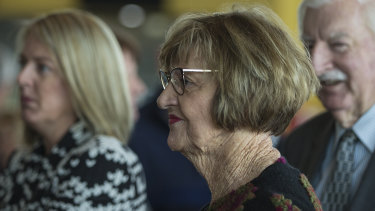 Former tennis player and current Pentecostal minister Margaret Court, who has been vocally homophobic.
