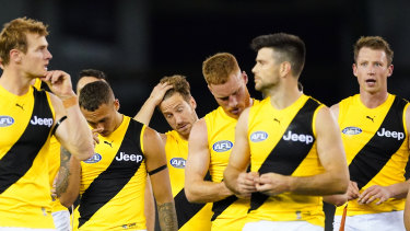 Richmond were set to travel to the Gold Coast to play the Eagles at Metricon Stadium this Thursday.