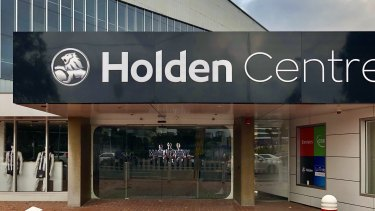Collingwood's headquarters in inner city Melbourne - the Holden Centre.