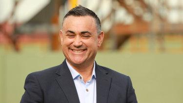 Attack dog: NSW Deputy Premier John Barilaro.